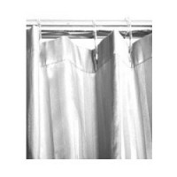 Shower Curtain Satin Stripe