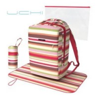 Winter Stripe Nappy Bag