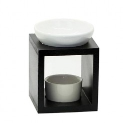 Wood Aromatherapy Oil Burner